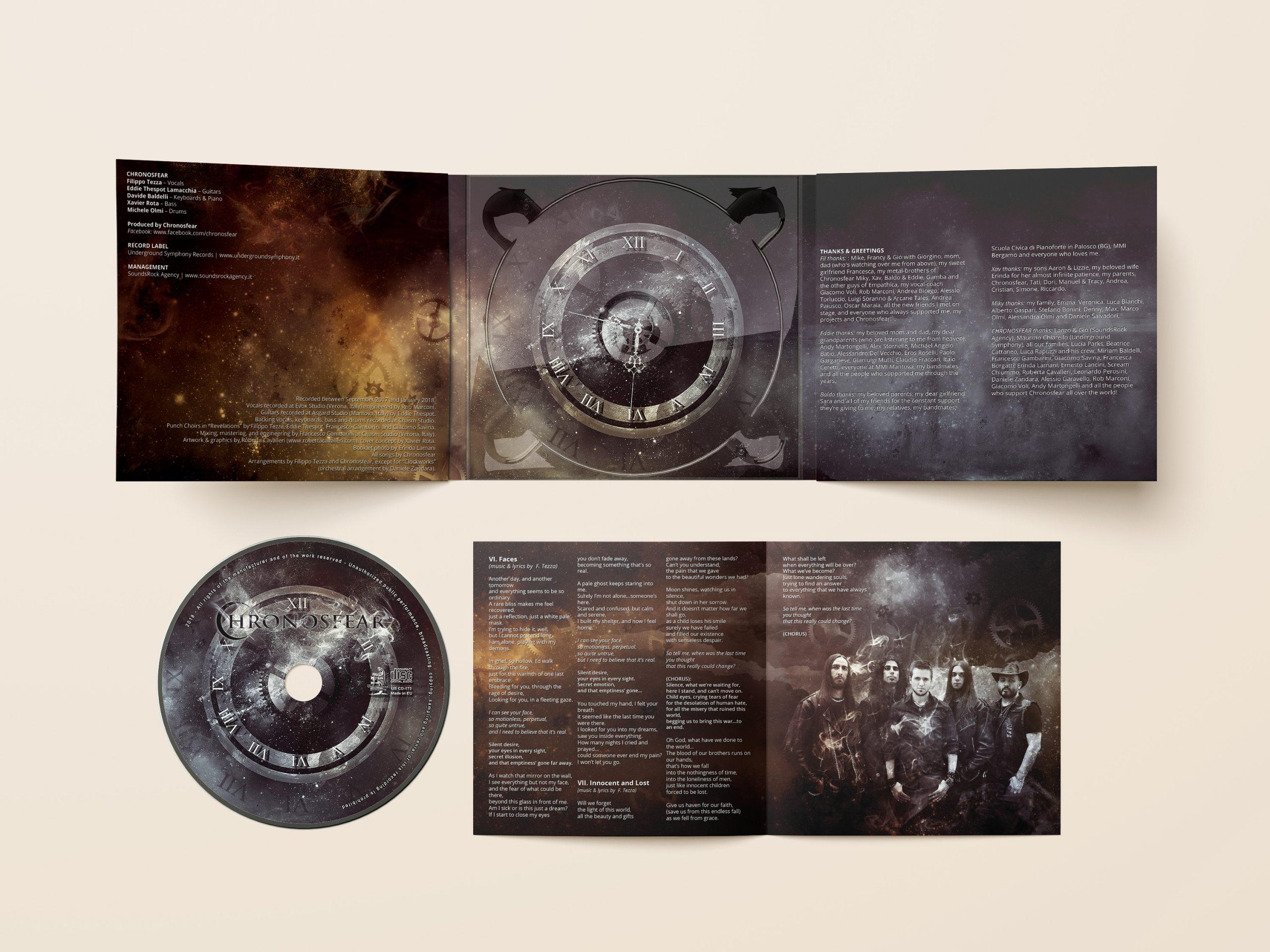 cd artwork and packaging